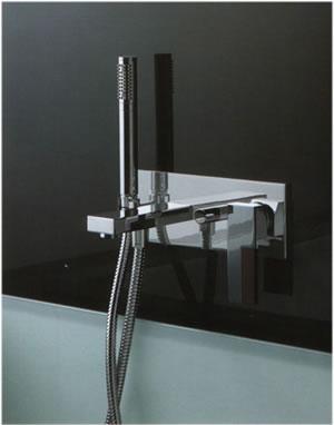 Grifos la ducha de fantini plano Grifos de bano modernos