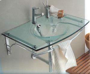 Regia 714509 lavabo de cristal for Lavabo vidrio