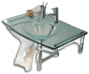 Regia 714509 lavabo de cristal - Lavabos de cristal de colores ...