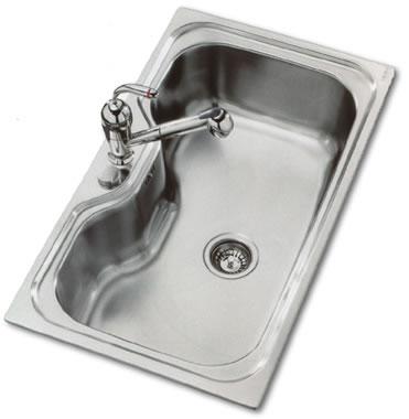 Lavabos cocina de acero inoxidable de franke futuro - Lavabo de acero inoxidable ...
