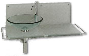 Lavabos vidrio tau de bolan lavabos acero porcelana - Lavabo de vidrio ...